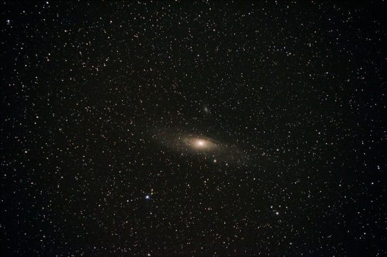 200mm @ f/6.3, ISO 6400, 330 sec.11 x 30 sec. frames stacked in DSS.