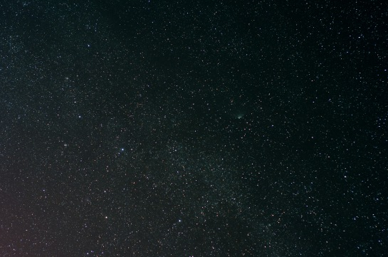 50mm f/2.8, ISO 800, 6 min. 2 X 240 sec. frames stacked in Photoshop.