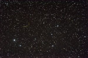 Comet C/2011 J2 LINEAR at Mag 13.9 Nikon D90 on Altair Wave 115/805 ISO 1250, 20x57 sec.