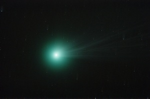 Comet C/2014 Q2 (Lovejoy), 12 January 2015 Altair Wave 115/805 f/7, ISO 800, 16 minutes. 16 frames of 1 minute.