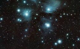 Pleiades overnight